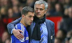 Eden Hazard has revealed he gets on well with Jose Mourinho