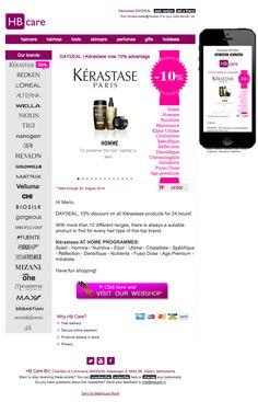 Kérastase aanbieding bij HB Care. 10% korting!!! #newsletter #fullservice August, 20 2014
