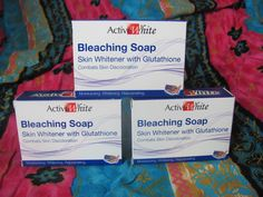Really effective skin bleaching soap, 3 x 135gm