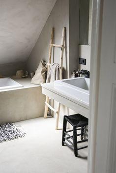 Laundry In Bathroom, Interior Walls, Open Concept, Bathroom Inspiration, Marrakech, Fixer Upper, Storage Spaces, Home Remodeling, Vanity