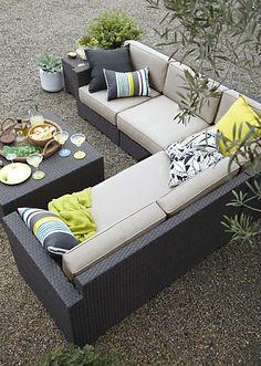 Paul's Crate & Barrel Outdoor Furniture