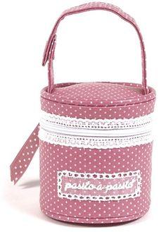 Pasito a Pasito - Juliette en Orquidea en tono Fresa  http://www.bbthecountrybaby.com/tienda/index.php/catalogsearch/result/?q=juliette+orq