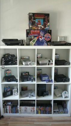 I love my collection of old consoles :) - 9GAG