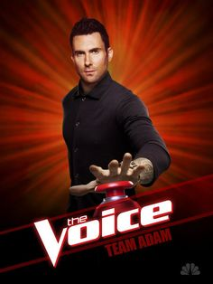THE VOICE: Adam Levine Season 3 Poster | HOLLYWOOD JUNKET  #NBCTheVoice #AdamLevine #HollywoodJunket