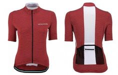 Women s Francine Cycling Jersey Red Garnet  734976114