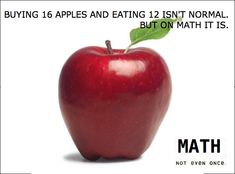 math problems, school, funny pictures, colorado, poster, apples, teacher, eyes, funny math