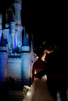 Wishes come true with Disney's Fairy Tale Weddings & Honeymoons. Photo: Stephanie, Disney Fine Art Photography