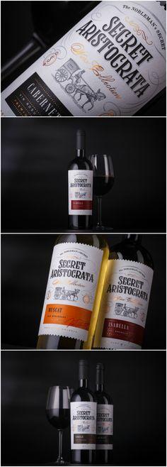 Moldovan Wine Label
