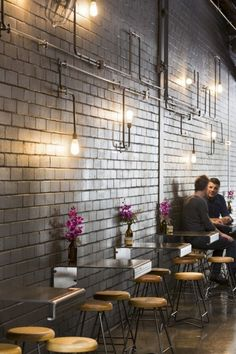 Code Black Coffee, Restaurant #Interior