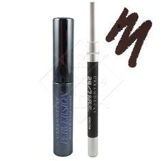 Urban Decay PERVERSION Mascara 3ML BLACK + DEMOLITION Eyeliner 0.8 g DEEP BROWN…
