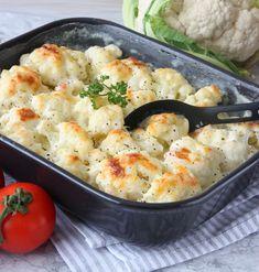 TIPS! Följ gärna Lindas bakskolapåInstagram(klicka här!) Lchf, Cauliflower, Shrimp, Buffet, Wok, Food And Drink, Meat, Dinner, Vegetables