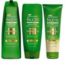 Receive Free Garnier Triple Nutrition Shampoo & Conditioner Samples