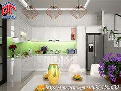 Tủ bếp đẹp 2