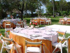 destination wedding color scheme