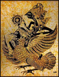 Indonesian Wayang Kulit depicted here in batik Nature Symbols, Patterns In Nature, Nature Pattern, Summer Nature Photography, Indonesian Art, Batik Art, Batik Pattern, Shadow Art, Shadow Puppets