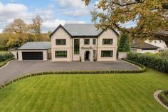 5 bedroom detached house for sale in Stunning new house - adjoining the Mere Golf Resort - Rightmove. Dream Home Design, Home Design Plans, Style At Home, Dream House Exterior, House Exteriors, Exterior Remodel, Types Of Houses, House Goals, Apartment Design