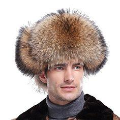 3d4ed9006f379 URSFUR Men s Raccoon Fur   Leather Trapper Hats Review