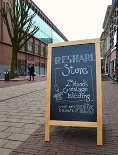Hotspot: Re-Share store Arnhem, by Y Fair Productions #Arnhem #Reshare #tweedehands #vintage