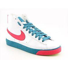 Nike Blazer High Sneakers Shoes White Womens