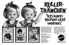 Das Kuller tränchen. Wer hatte nicht so eine Puppe ?