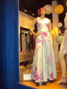 vestido longo branchee