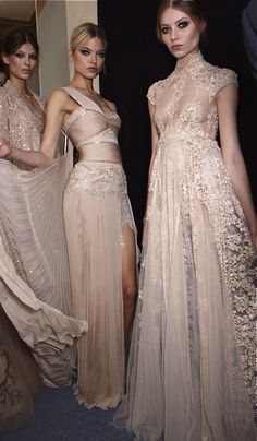 Zuhair Murad; the dress in the middle <3