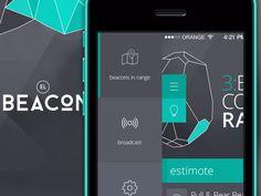 the shape of the menu and the colour coding of active elements Flat Design, Web Design, Bus App, Mobile App Ui, Ui Ux, Bar Chart, Menu, Coding, Colour