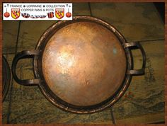 French Copper Tourtière, beautiful handmade work part 7