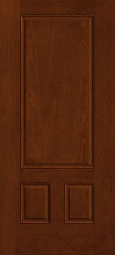 Steves sons 36 in x 80 in craftsman 6 lite stained for Therma tru fiber classic mahogany price