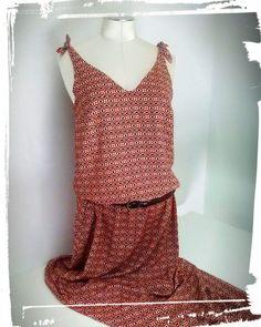 Si vous voulez savoir comment coudre une robe longue de style bohème, cliquez sur le lien, je vous explique tout ! Tuto et patron gratuit 😉😊😚😚