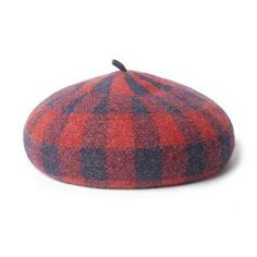 9e3bd0a1a95 Fashion casual plaid beret hat for women travel shopping winter hats