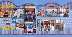 scrapbook layouts free   This LO is for the Every kid Should – Go to an Amusement Park ...