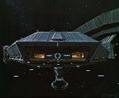 Ralph McQuarrie Battlestar Galactica Concept Art
