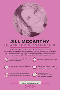 Jill McCarthy, Socia