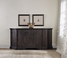 Corsica Credenza | Hooker Furniture | Home Gallery Stores