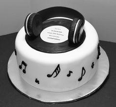 DJ BIRTHDAY CAKE Pinteres