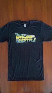 Mens Back to Seattle Tshirt @ shockwavetees.com