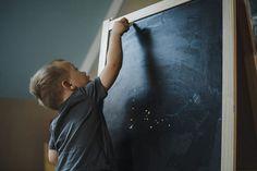 little artist kids inspiration fashion childhood unplugged chalkboard documentary style family photography