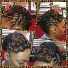 Gorgeous and creative natural hairstyles by The River Oshun