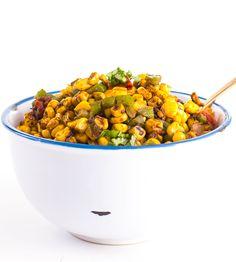 Cajun Roasted Corn Salad: Southwestern-style side dish/salad/salsa ...