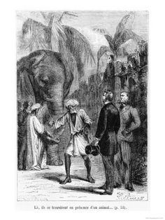 bennet-l-phileas-fogg-in-front-of-an-elephant-illustration-from-around-the-world-in-eighty-days.jpg 338×450 pixels