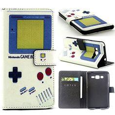 Grand Prime Case,G530 Case,[Wallet Case],XYX [Kickstand][Slim Fit] Premium Protective Case Wallet Leather Case for Samsung Galaxy Grand Prime G530 G5308 [Retro Game Boy], http://www.amazon.com/dp/B014RM9OO4/ref=cm_sw_r_pi_awdm_-lhBwb0FMAH5A