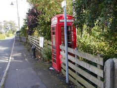 Red Phone Booth at Kirkbean