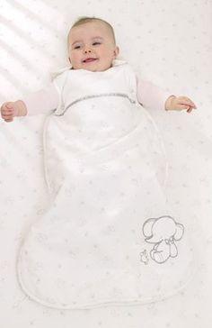 Bavlnený spací vak s hviezdičkami.