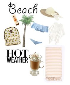 """""""A date at the beach"""" by danataly1325 ❤ liked on Polyvore featuring Lisa Marie Fernandez, Turkish-T, beach and summerdate"""