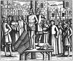 """William Tyndale. Executed in 1536 under the charge of heresy after translating the Bible to English. His last words were """"Lord, open the King of England's eyes!"""""""
