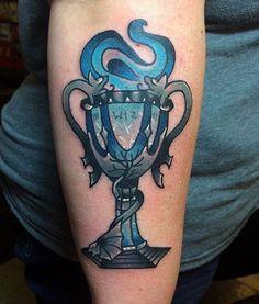 Hogwarts harry potter tattoo 4