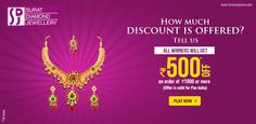The discount that is offered. Minimum Rs. 1000 of purchase and you get Rs. 500 off