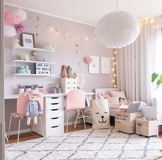 A pretty pink little girl's room - Is To Me