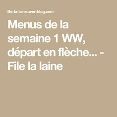 Weigth Watchers, French Women Style, Anti Cellulite, Ww Recipes, Health Fitness, Lose Weight, Food And Drink, Nutrition, How To Plan